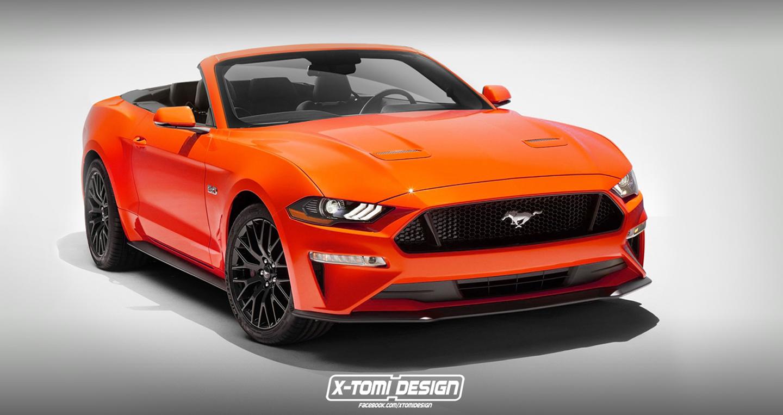 Vén màn Ford Mustang Convertible 2018