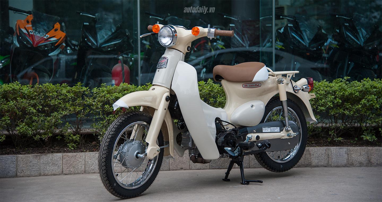 Honda Little Cub 14 Fi 2017 giá hơn 80 triệu tại Việt Nam
