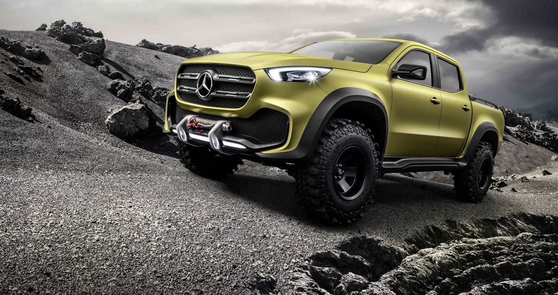 Mercedes bắt đầu nhận đơn đặt hàng mẫu bán tải X-Class 2018