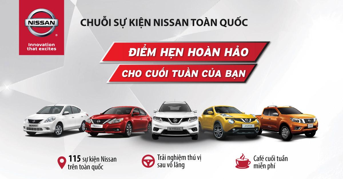Nissan toàn quốc tổ chức chuỗi sự kiện lái thử đặc biệt trong tháng 03/2017