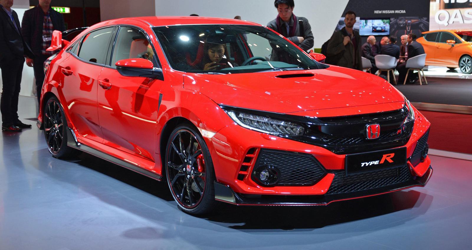 Honda civic type r 2018 v a ra m t for 2018 civic type r motor
