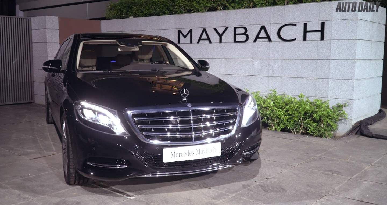 Tìm hiểu nhanh bộ đôi Mercedes-Maybach S 400 và S 500 giá từ 6,899 tỷ đồng