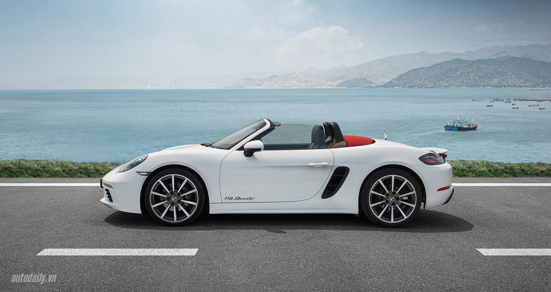 Đánh giá Porsche 718 Boxster: Kẻ dẫn dắt cuộc chơi