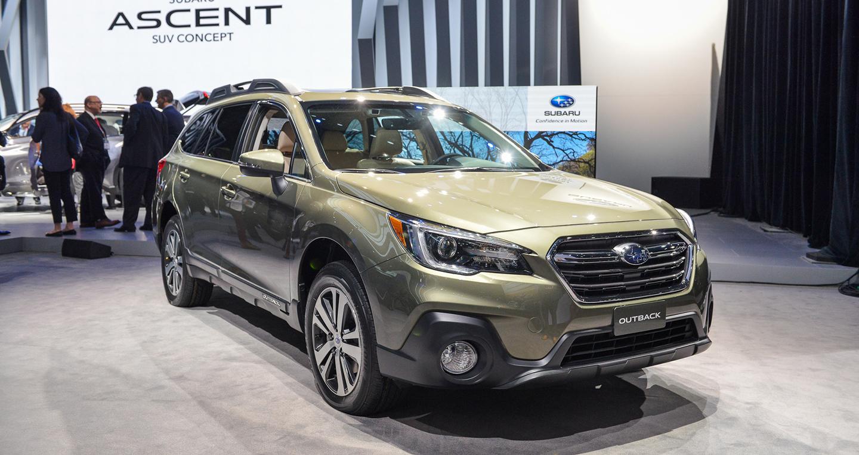 Subaru Outback 2018 có gì mới?