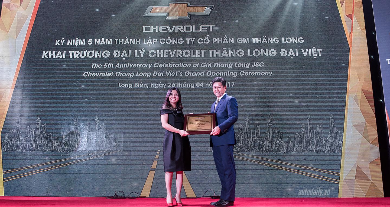 GM Việt Nam khai trương đại lý 3S mới tại Hà Nội