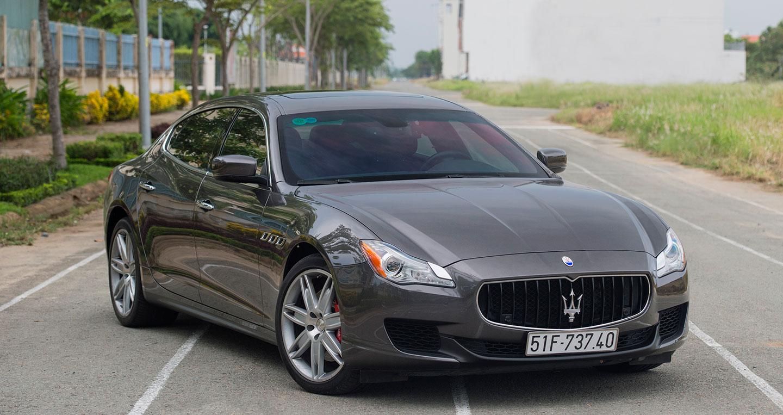 """Đánh giá """"xế sang"""" Maserati Quattroporte tại Việt Nam"""