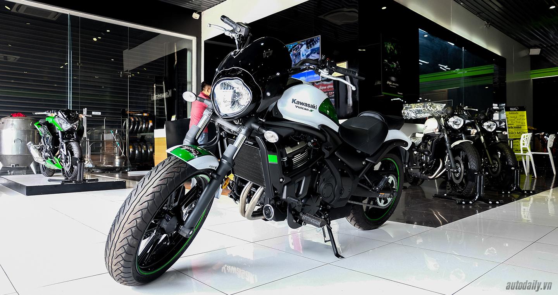Chi tiết Kawasaki Vulcan S ABS Cafe 2017 chính hãng tại Việt Nam