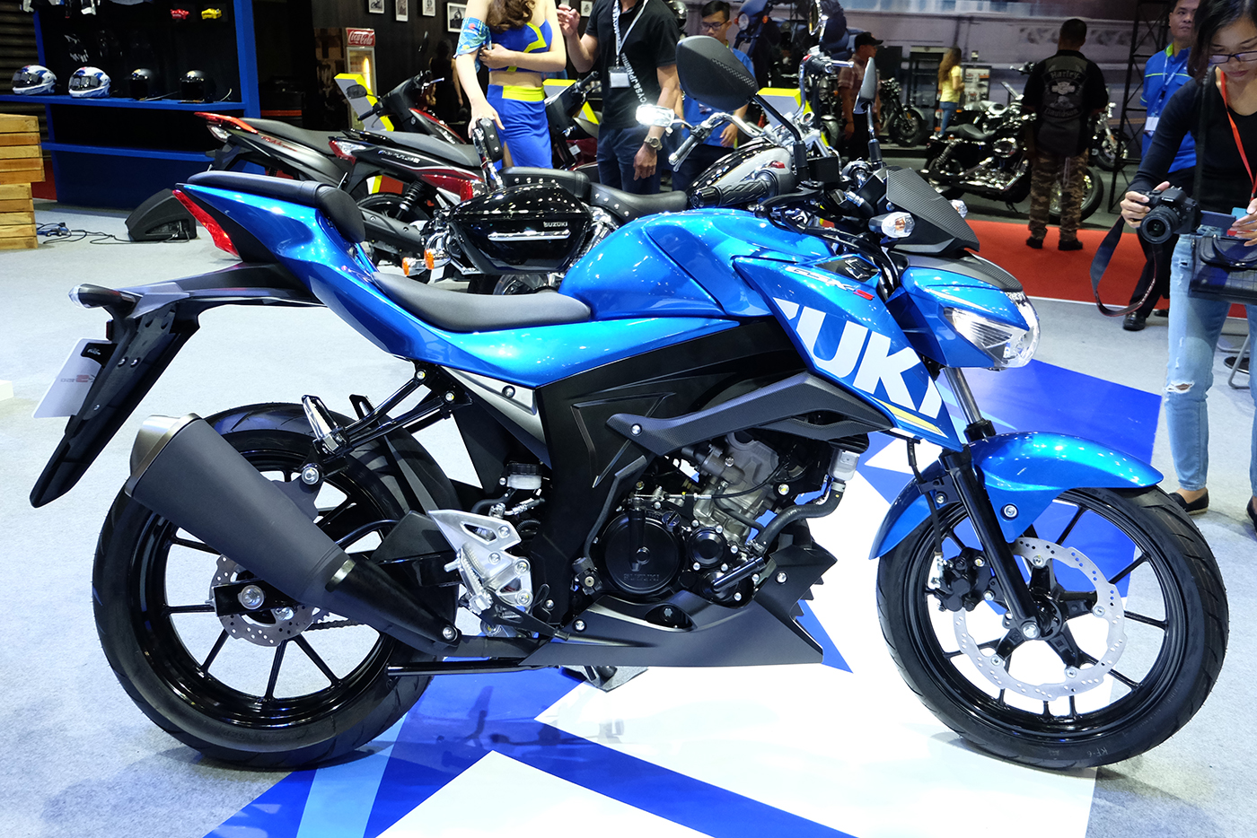 Xem Th 234 M ảnh Suzuki Gsx S150 2017