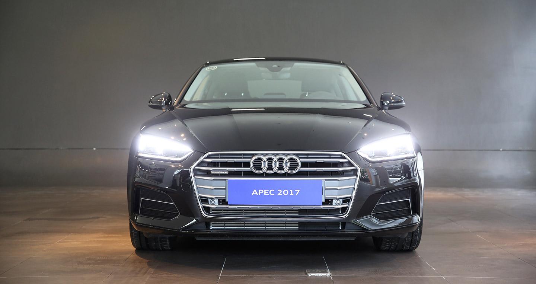 Audi A5 Sportback dành riêng cho sự kiện APEC cập cảng Việt Nam