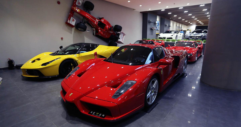 Đại lý sở hữu 4 siêu xe nổi tiếng của Ferrari ở Ả-Rập Xê-Út
