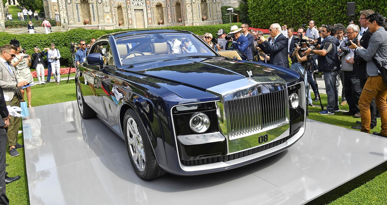 Ảnh thực tế Rolls-Royce Sweptail có giá dự đoán 12,8 triệu USD