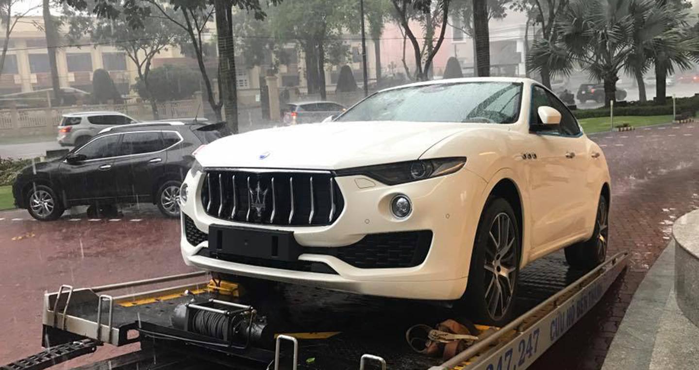 Maserati Levante S chính hãng giá 7 tỷ đồng về Việt Nam