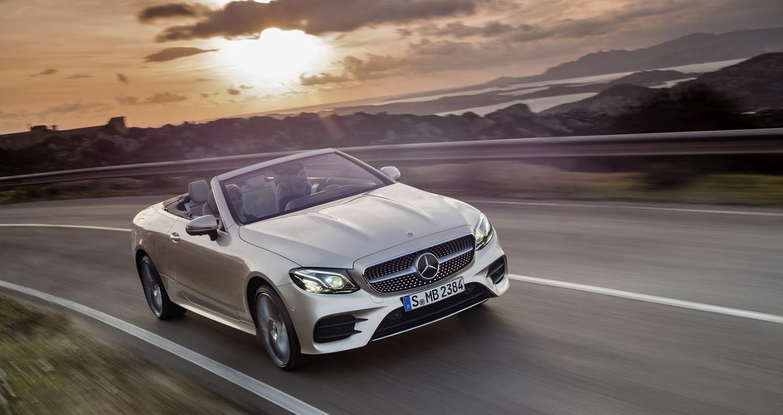 Mercedes-Benz E-Class Cabriolet 2018 có giá từ 60.460 USD