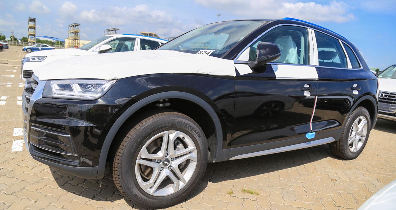 """""""Bắt gặp"""" Audi Q5 bản đặc biệt dành cho APEC 2017 tại Việt Nam"""