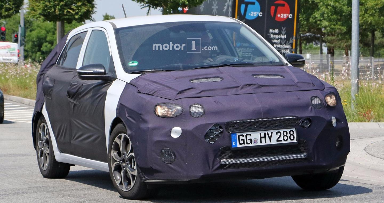 Hyundai i20 2018 lộ diện trên đường thử