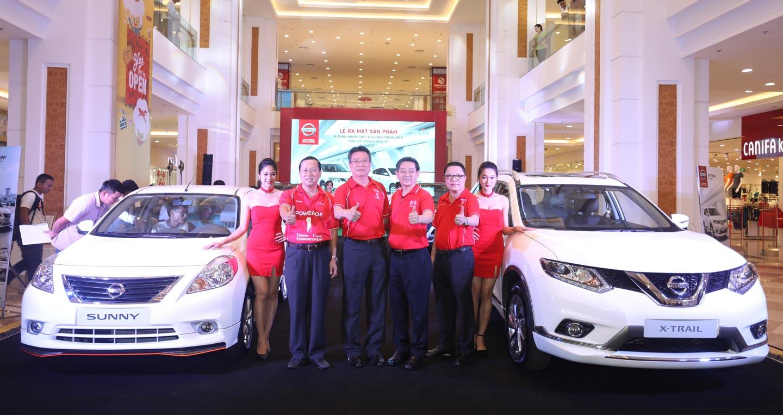 Bộ đôi Nissan X-Trail và Sunny phiên bản cao cấp ra mắt thị trường Việt