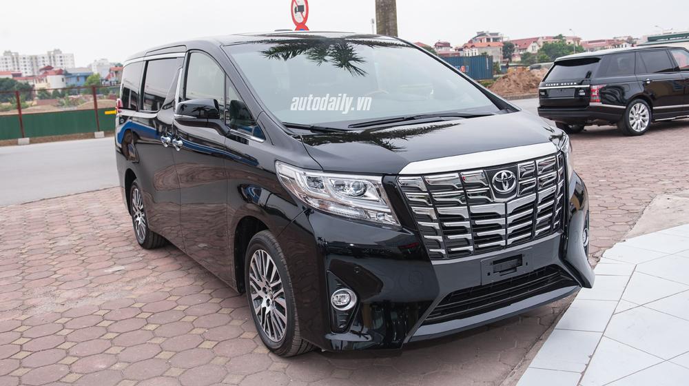 Toyota Alphard sắp ra mắt tại Việt Nam, giá 4 tỷ đồng?