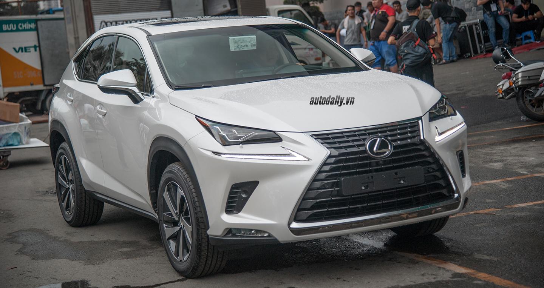 Lexus NX 2018 sẵn sàng ra mắt người tiêu dùng Việt
