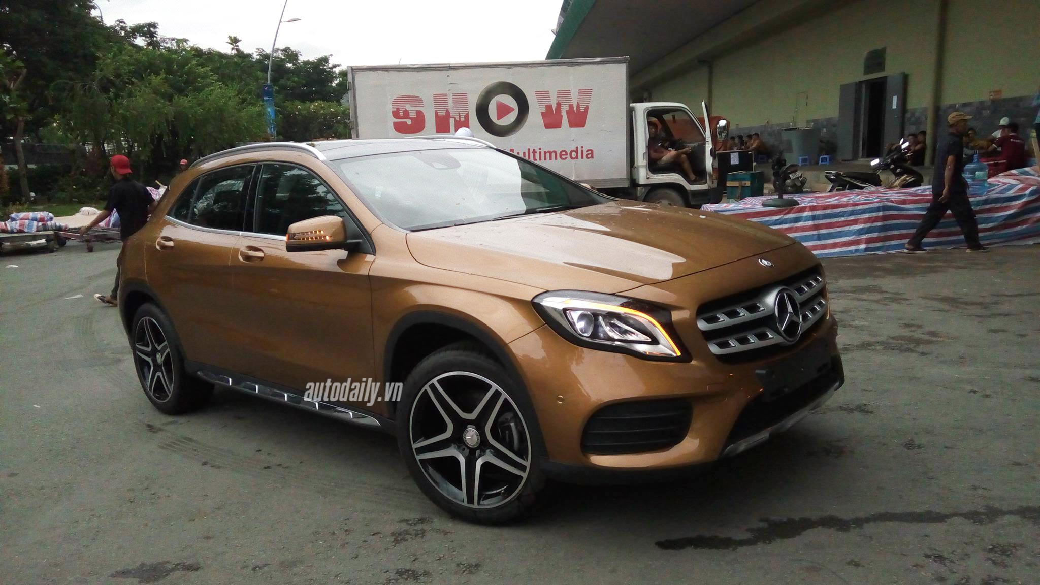 """""""Tóm gọn"""" Mercedes-Benz GLA 2018 tại Việt Nam"""