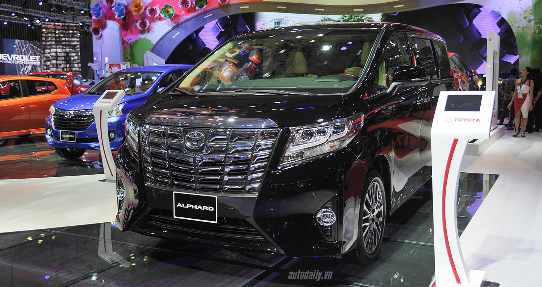 Minivan 7 chỗ Toyota Alphard chốt giá hơn 3,5 tỷ đồng tại Việt Nam