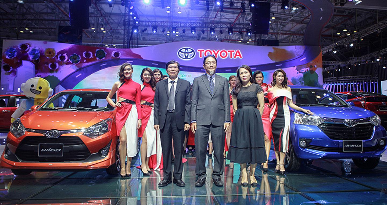 """Toyota Việt Nam mang """"vạn nụ cười"""" tới VMS 2017"""
