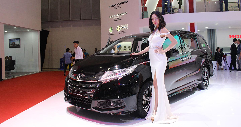 Honda Odyssey 2018 nhập khẩu
