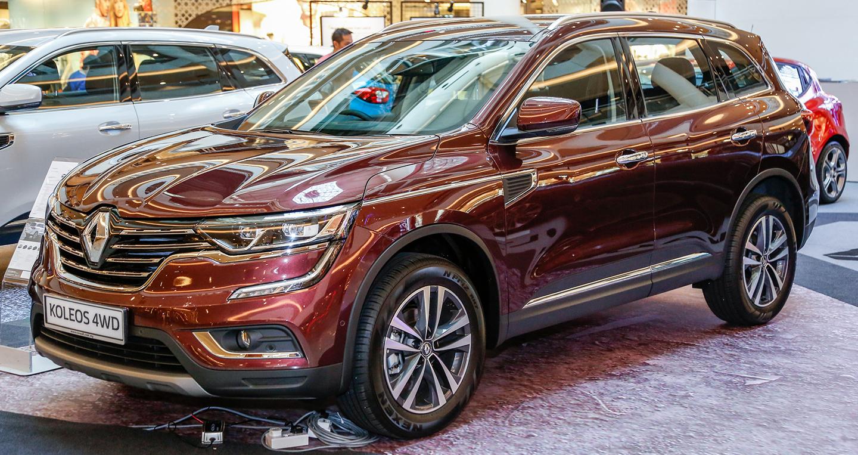 Renault Koleos 2017 chốt giá từ 47.200 USD tại Malaysia