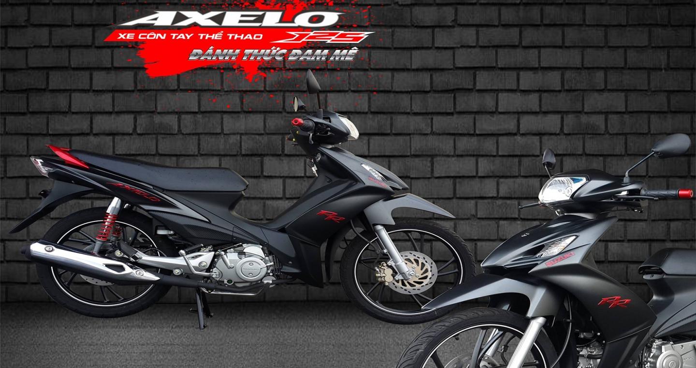 """Xe côn tay Suzuki Axelo 125 màu mới """"cực chất"""" tại Việt Nam"""