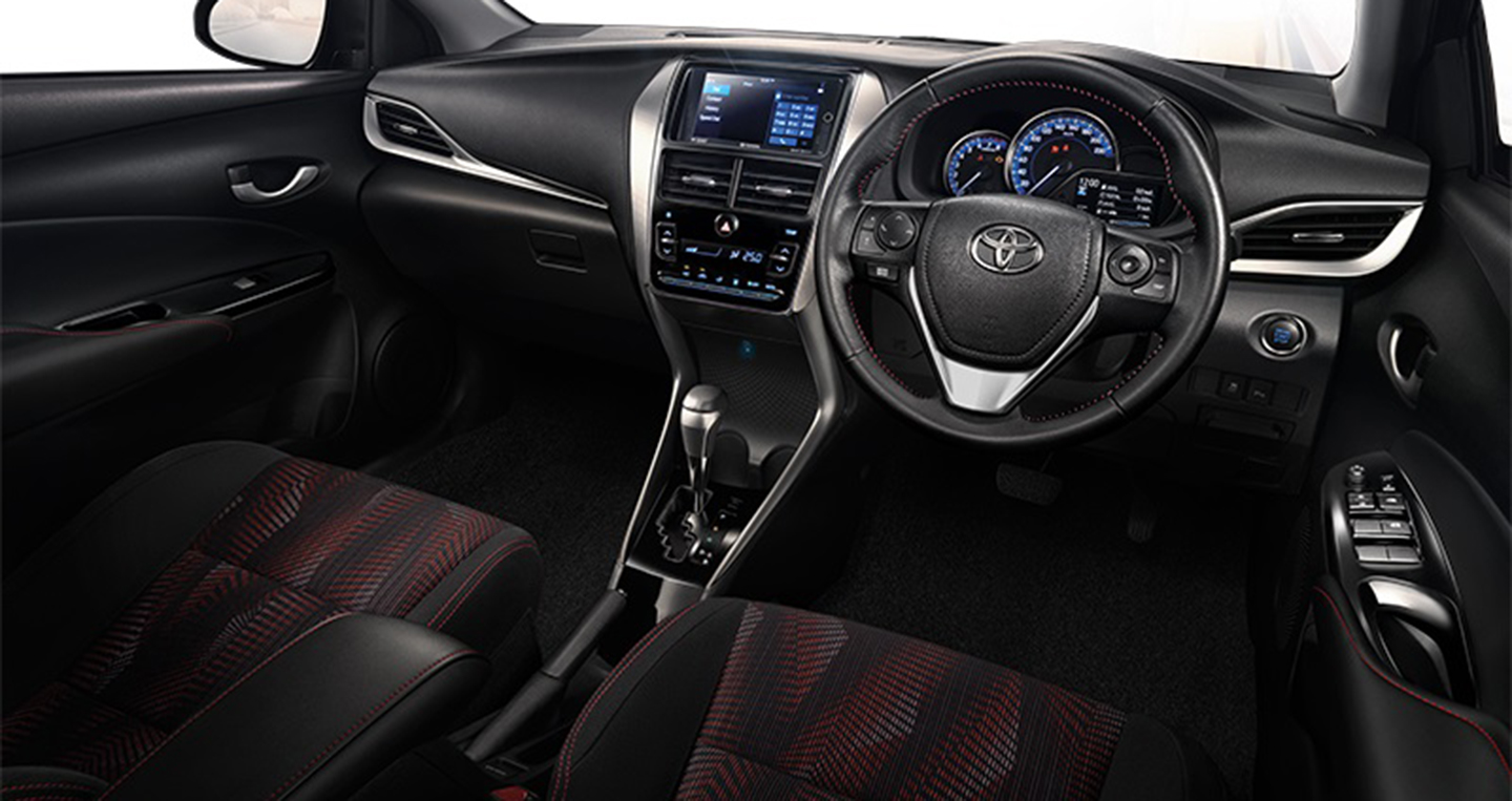 toyota yaris sedan 2018 ch nh th c ra m t gi t usd. Black Bedroom Furniture Sets. Home Design Ideas