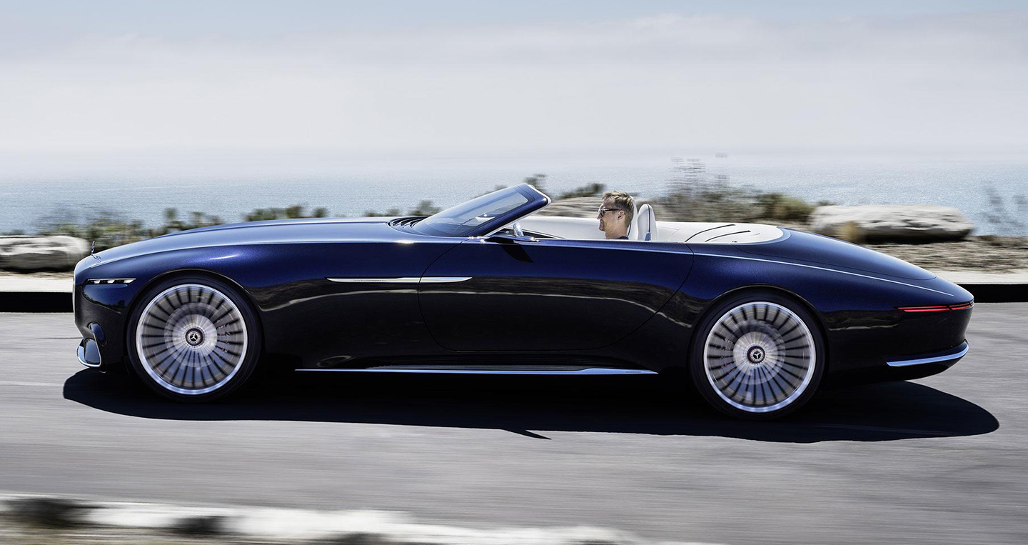 Vision Mercedes Maybach 6 Cabriolet Ch 237 Nh Thức Ra Mắt
