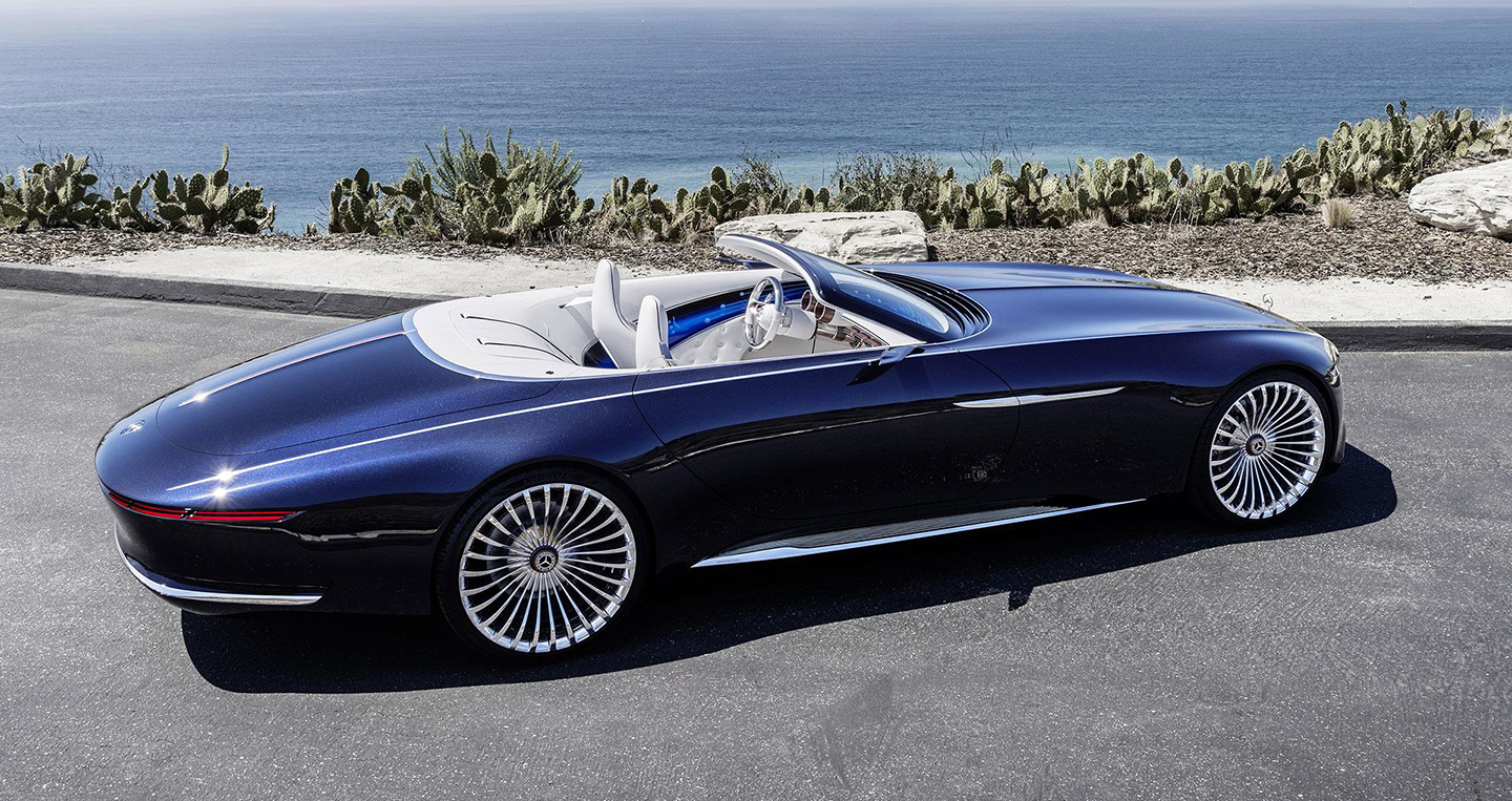 Vision mercedes maybach 6 cabriolet ch nh th c ra m t for Maybach 6 cabriolet