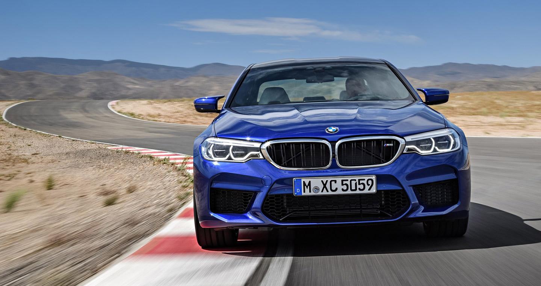 Ảnh chi tiết BMW M5 2018 đẹp hút hồn