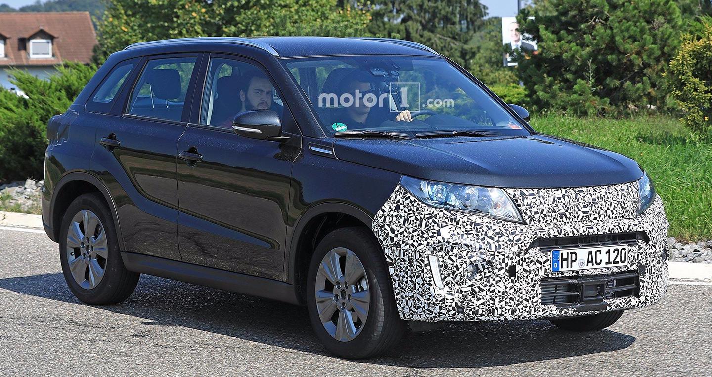 Suzuki Vitara thế hệ mới lộ diện trên đường thử - ảnh 2