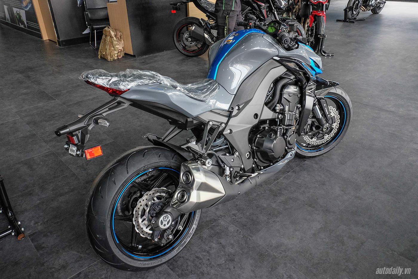 Chi tiết Kawasaki Z1000 ABS 2018 giá 399 triệu tại Việt Nam