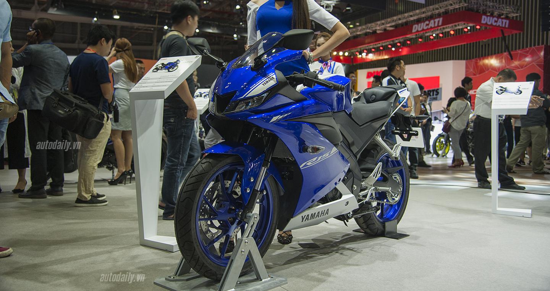 Yamaha tiếp tục nhập môtô 150 phân khối chính hãng về Việt Nam