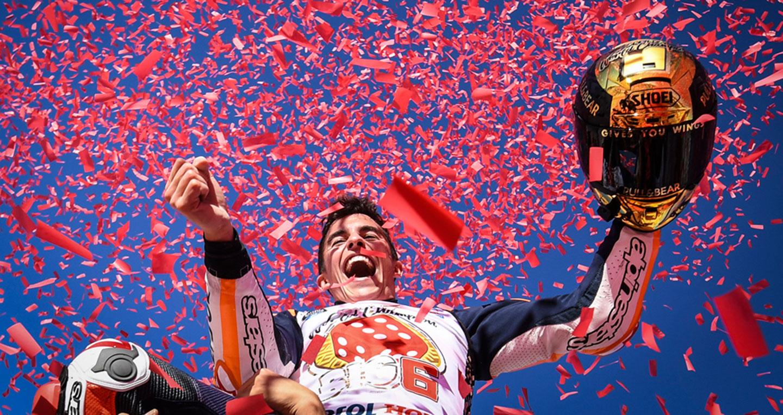 Tay đua Marc Marquez vô địch MotoGP 2017 - ảnh 1