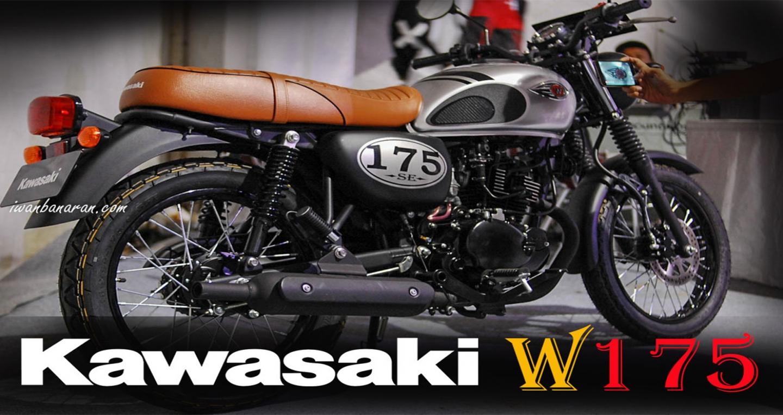 Xế hoài cổ Kawasaki W175 trình làng, giá gần 50 triệu đồng