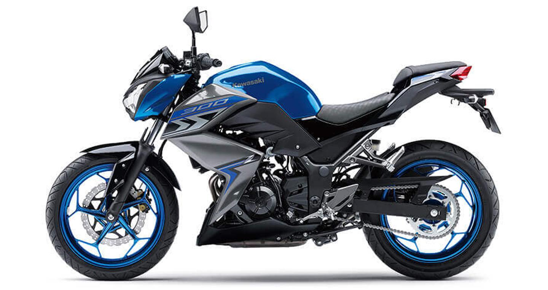 Kết quả hình ảnh cho Kawasaki Z300 ABS 2018
