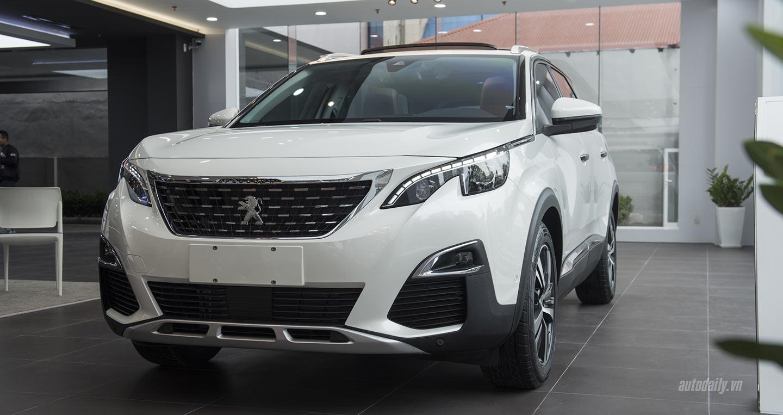Chi tiết mẫu SUV 7 chỗ Peugeot 5008, giá hơn 1,3 tỷ đồng