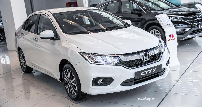 Honda City giảm giá ngay dịp đầu năm 2018