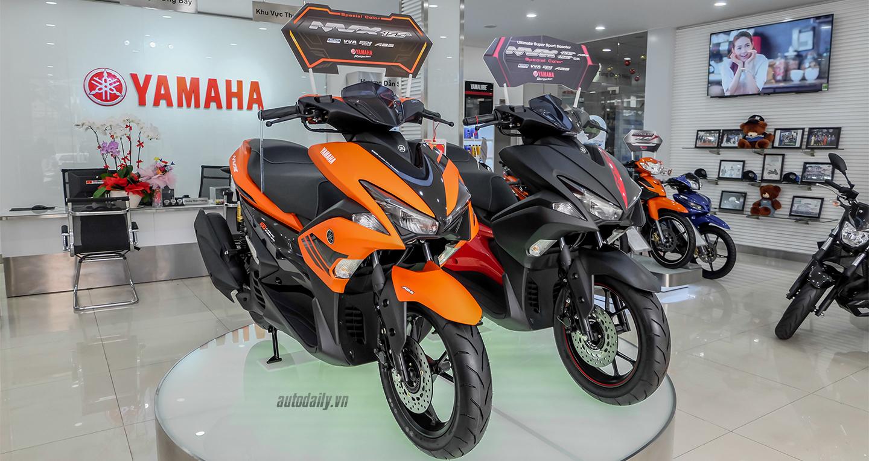 Điểm mặt dàn xe màu cam của Yamaha tại Việt Nam