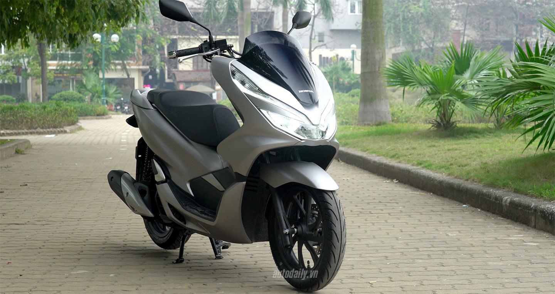 Chi tiết Honda PCX 2018 vừa bán ra thị trường