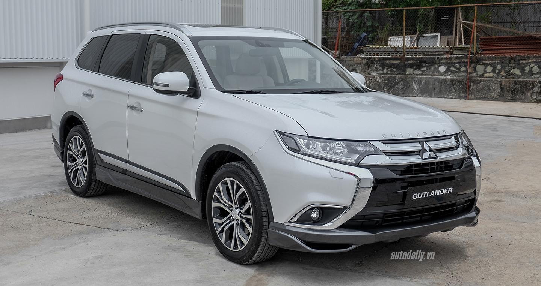 Mitsubishi Outlander 2018 CKD có gì mới giá bao nhiêu