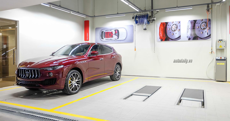 Maserati chuẩn bị khai trương Trung tâm dịch vụ tiêu chuẩn toàn cầu tại Việt Nam