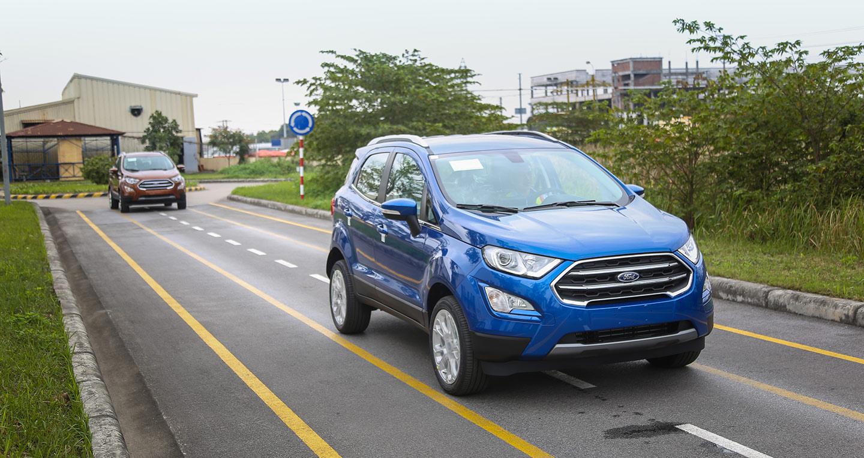 Ảnh chi tiết Ford EcoSport 2018 tại Việt Nam