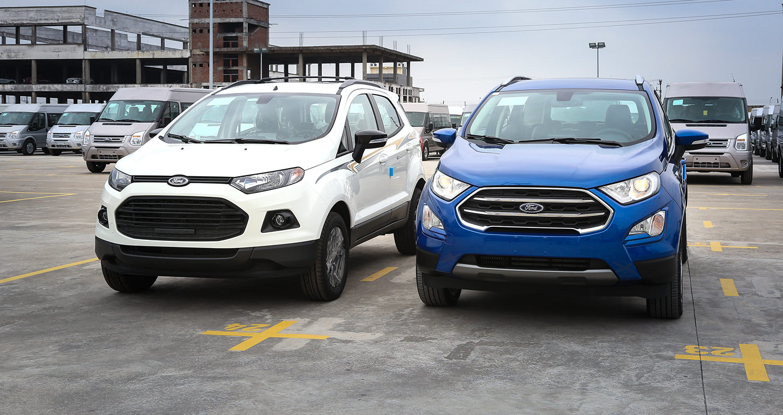 Những điểm mới trên Ford EcoSport 2018 vừa xuất xưởng tại Việt Nam