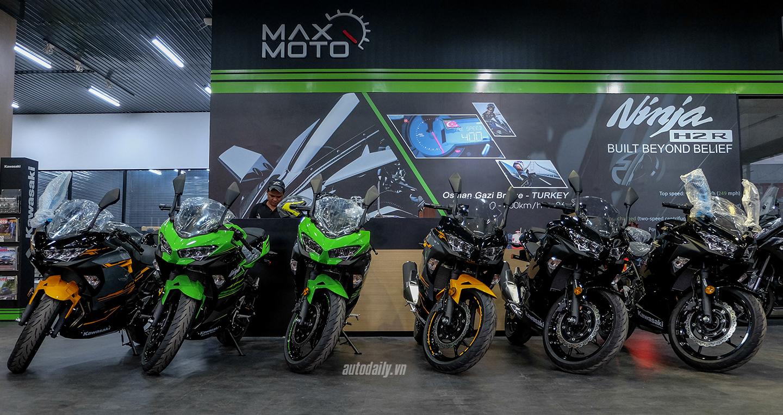 Cận cảnh Kawasaki Ninja 400 2018 tại Việt Nam, giá từ 153 triệu đồng