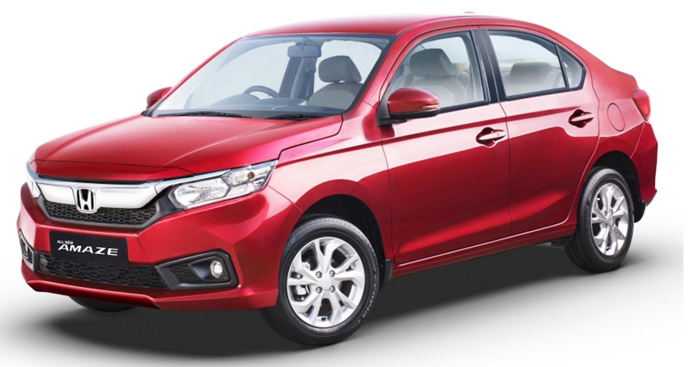 Honda Amaze 2018: Sedan giá rẻ lấy cảm hứng từ Accord và Civic
