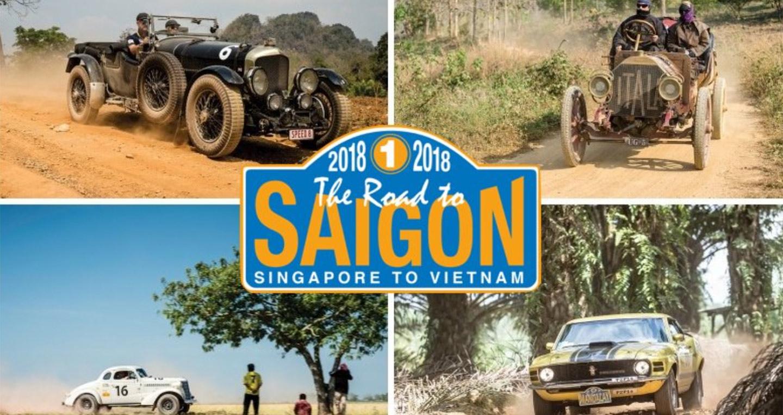The Road to Saigon 2018: Hành trình xe tự lái lớn nhất đến Việt Nam