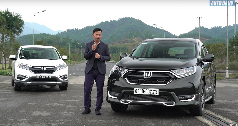 Đánh giá Honda CR-V L 2018 - Lột xác ngoạn mục